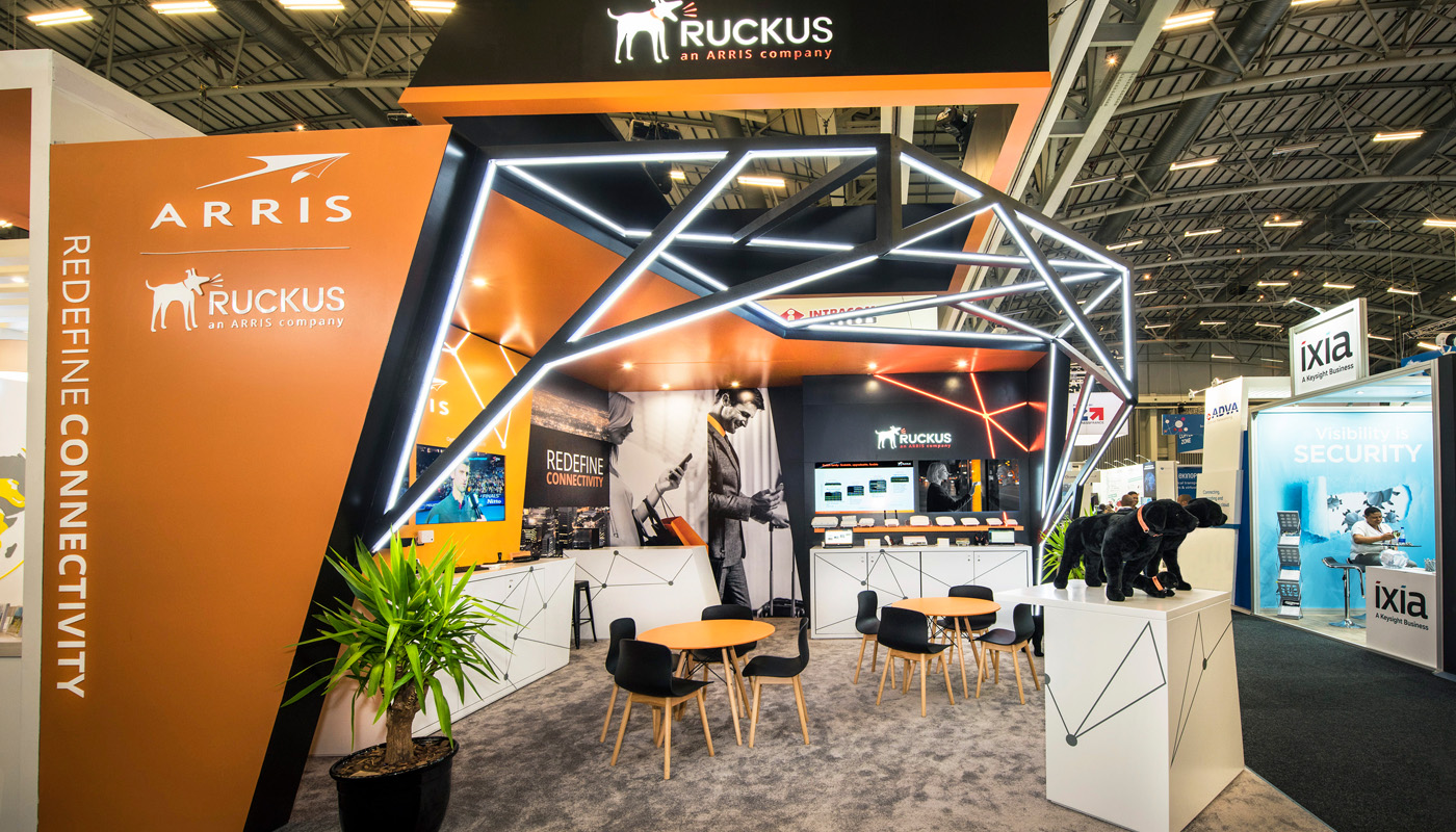 Ruckus Networks Exhibition Stand Design Africom 7