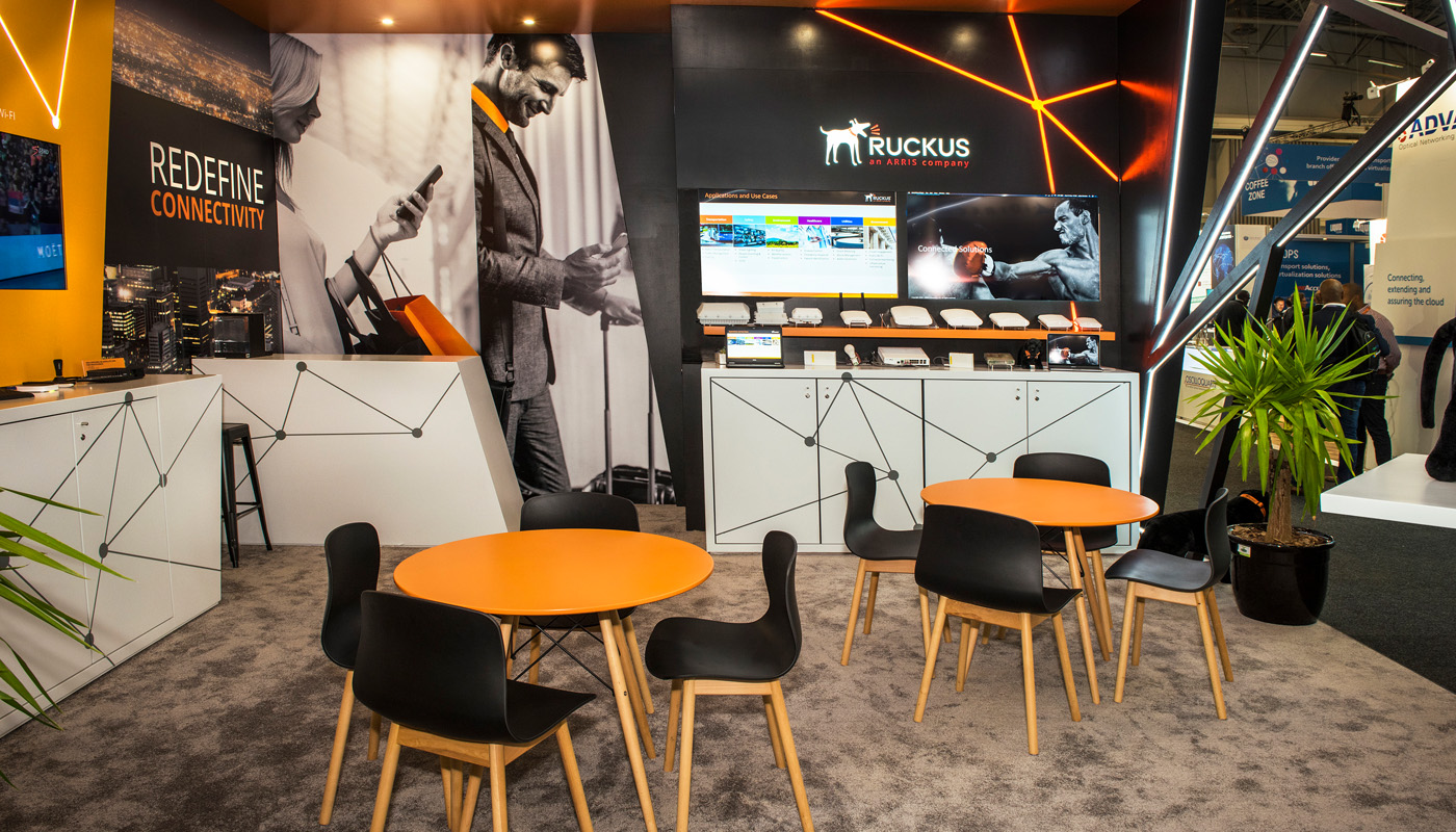 Ruckus Networks Exhibition Stand Design Africom 6