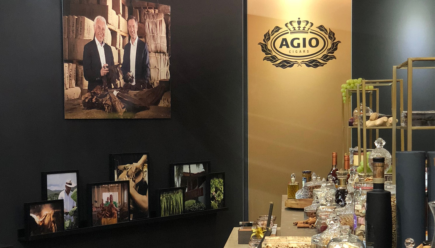 Royal Agio Intertabac Exhibition stand | Product Launch 1