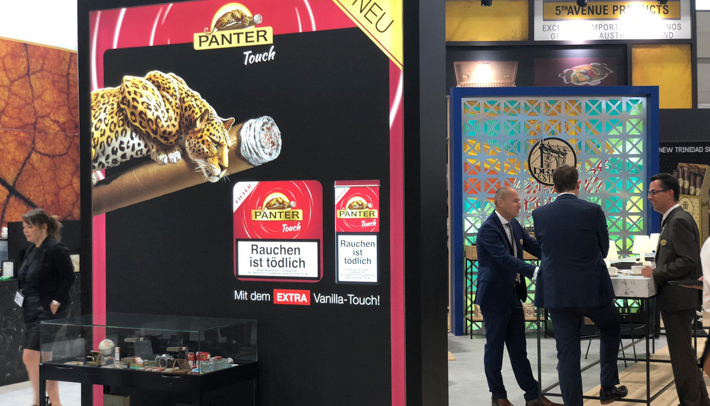 Royal Agio Intertabac Exhibition stand | Product Launch 6