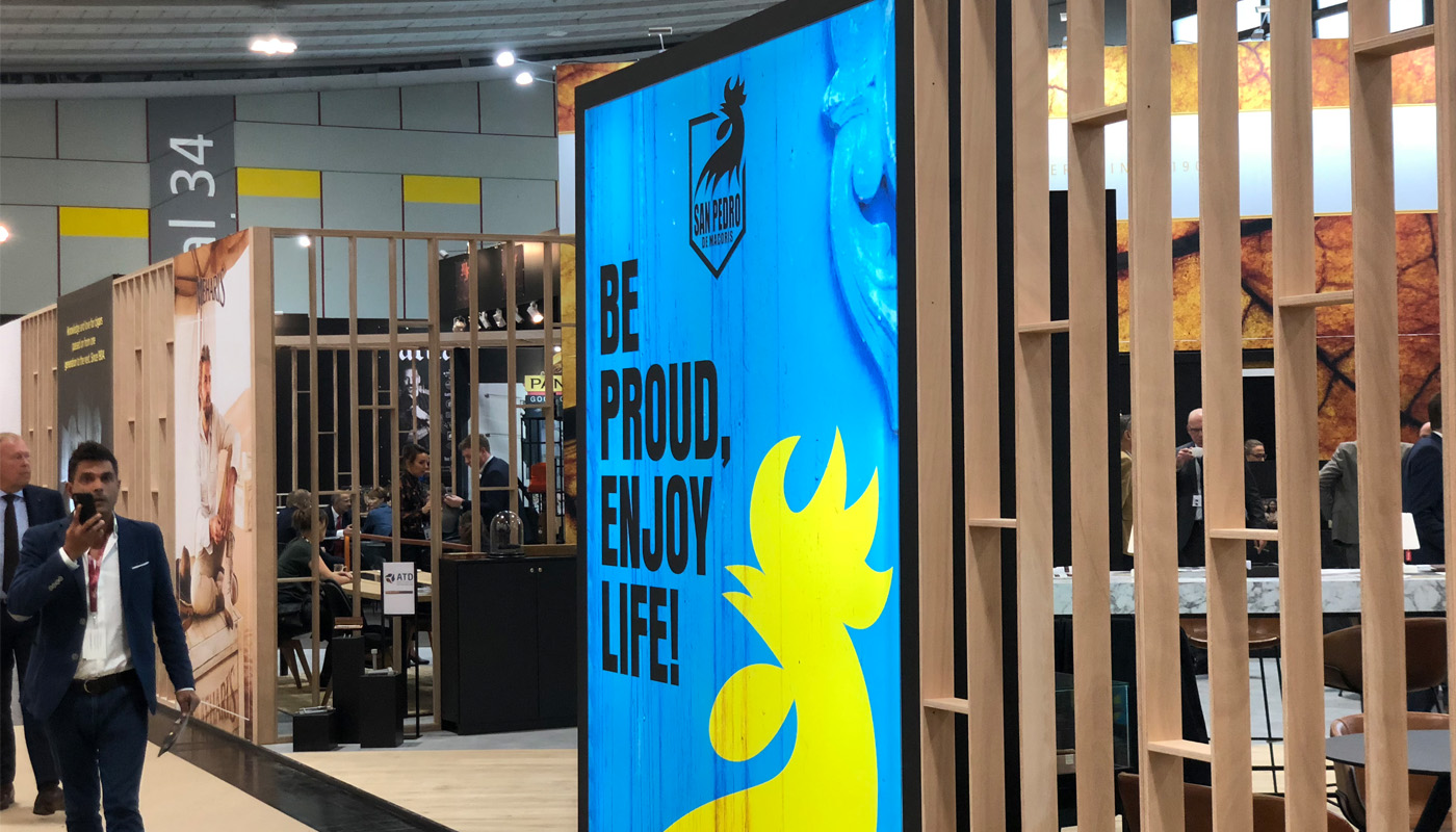 Royal Agio Intertabac Exhibition stand | Product Launch 8