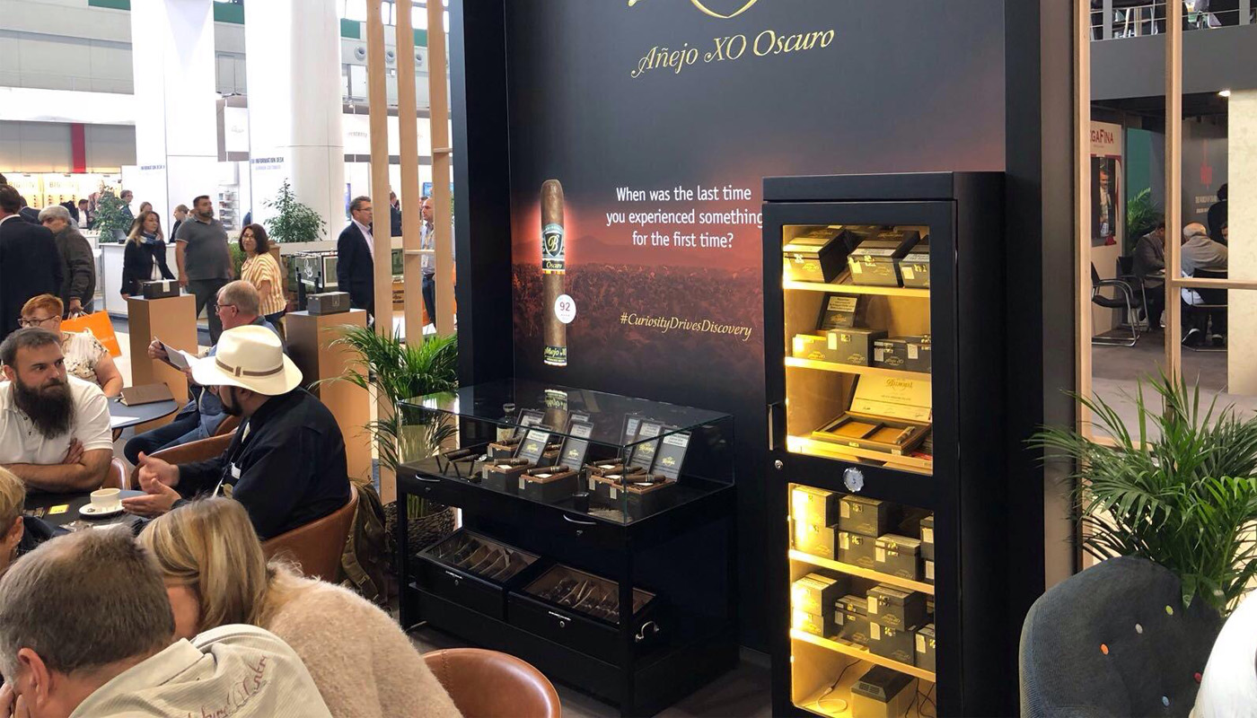 Royal Agio Intertabac Exhibition stand | Product Launch 10