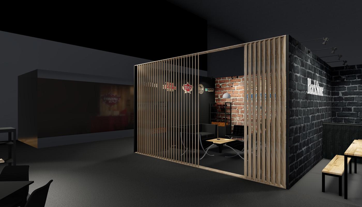 Swisher Intertabac Exhibition Stand Design 3