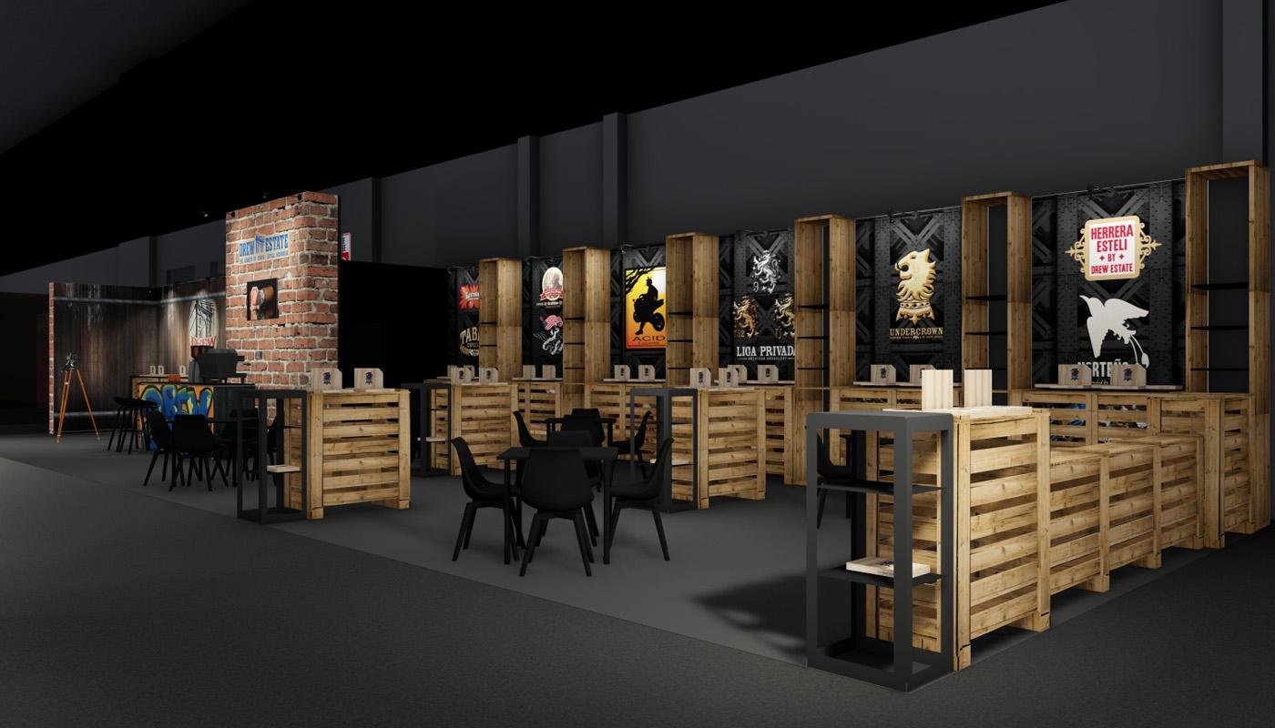 Swisher Intertabac Exhibition Stand Design 2