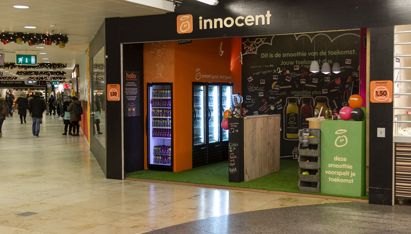 Innocent Drinks Pop-Up Store Brand Activations 9