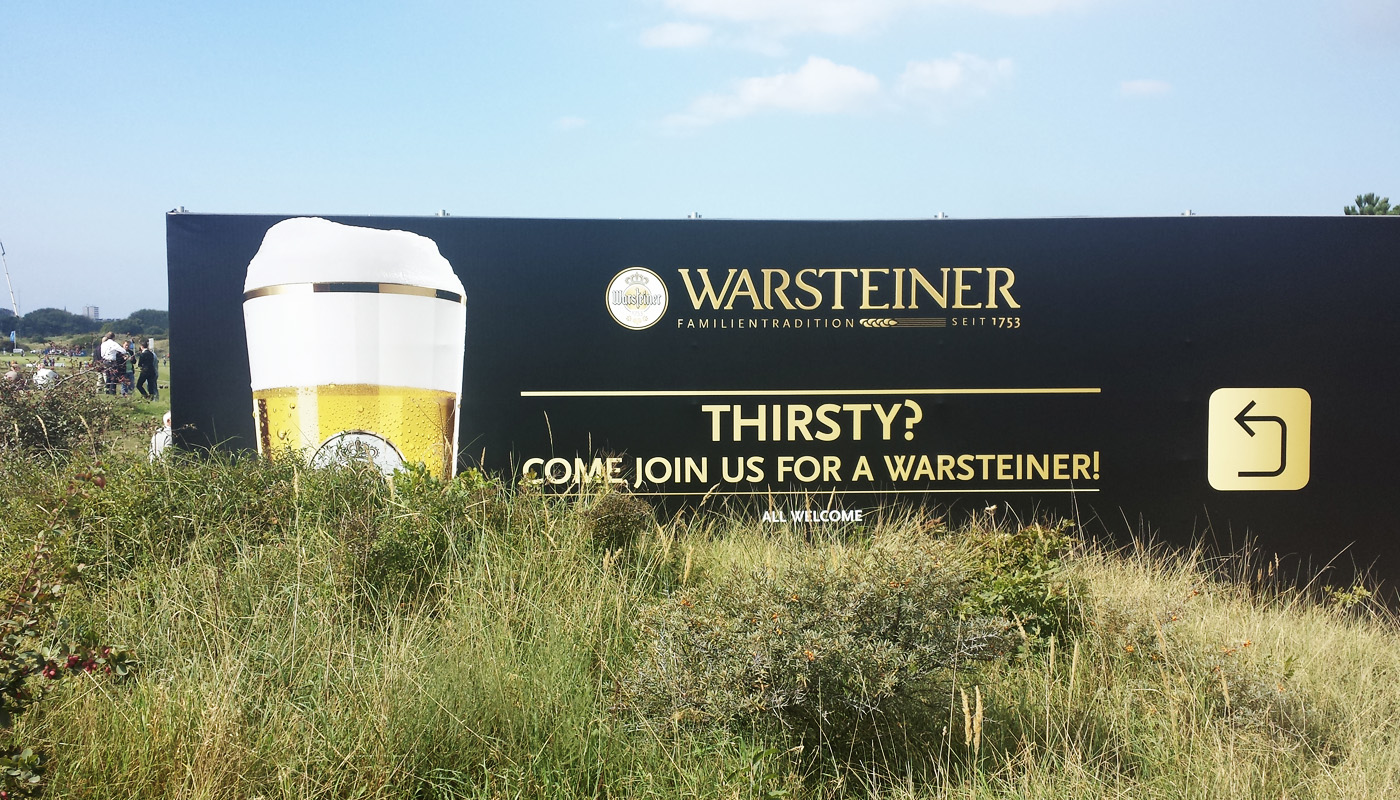 Warsteiner KLM Open Brand Activations 2