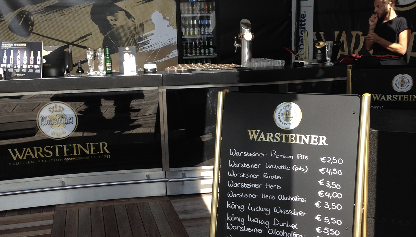 Warsteiner KLM Open Brand Activations 5