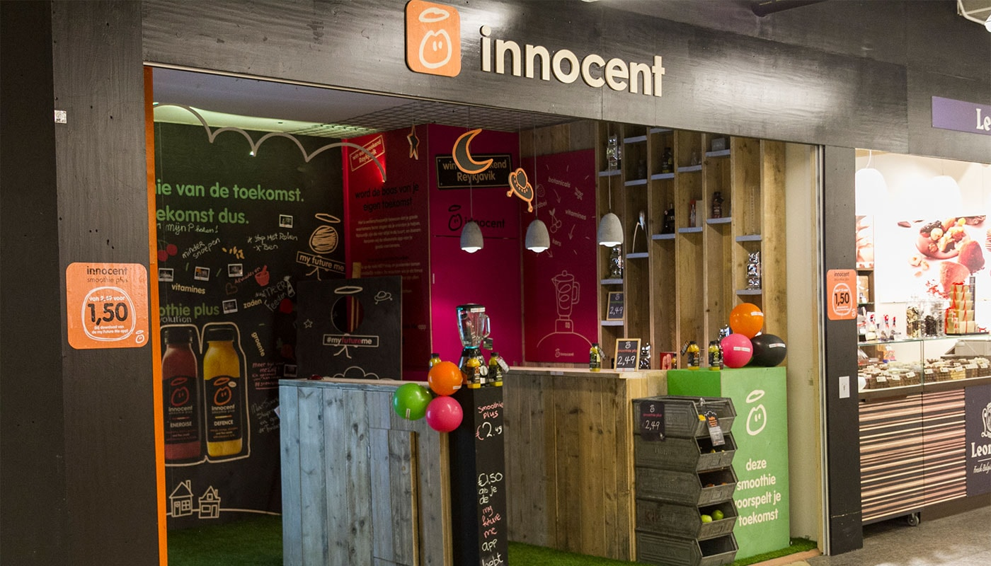 Innocent Drinks Pop-Up Store Brand Activations 2