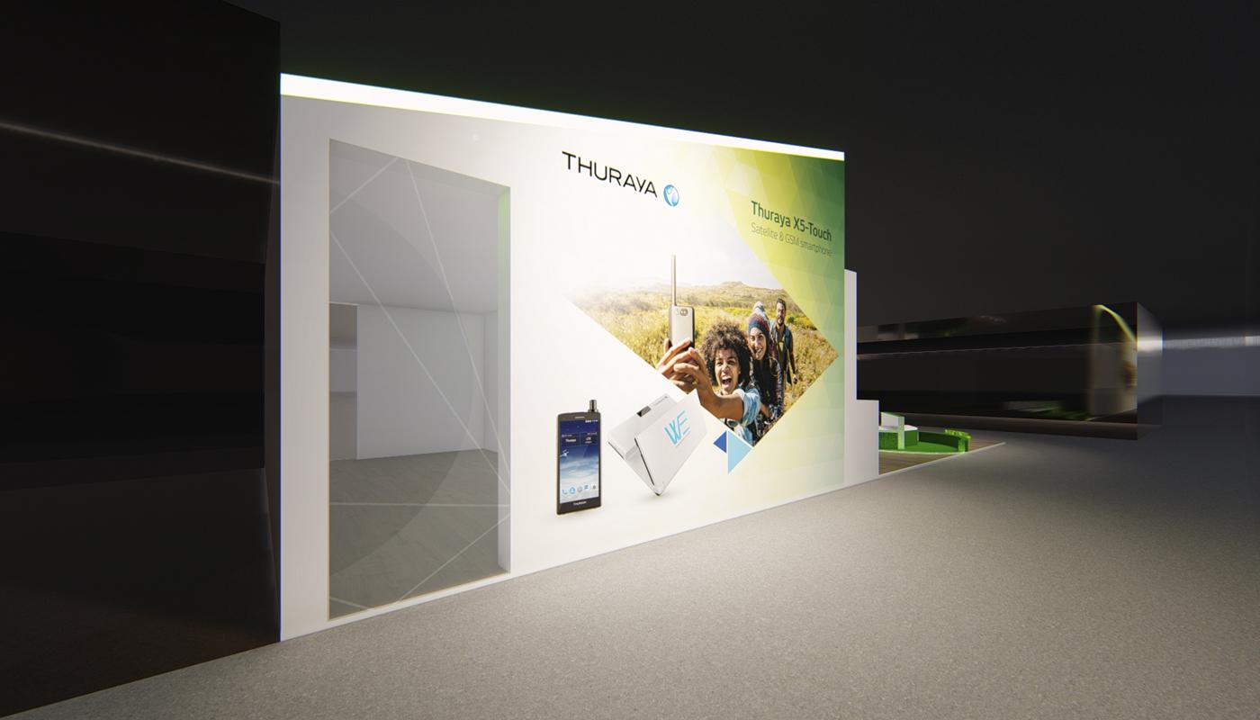 Yahsat DWTC Exhibition Stand Design Africom 3