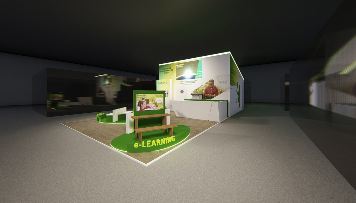 Yahsat DWTC Exhibition Stand Design Africom 5