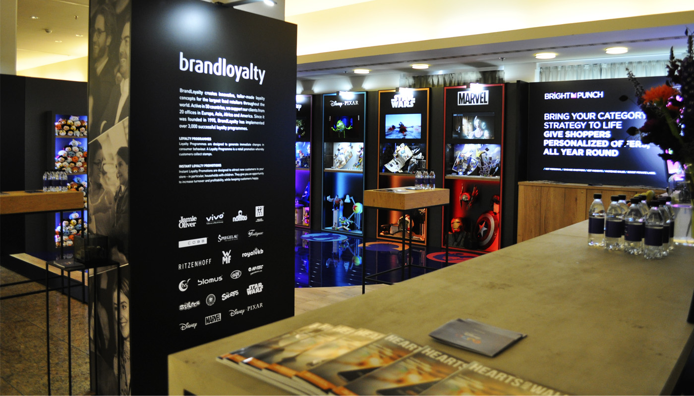 Brand Loyalty & Disney Exhibition Stand Design 2