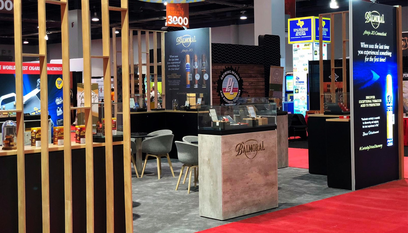 Royal Agio Cigars Tobacco Plus Expo Exhibition Stand Design