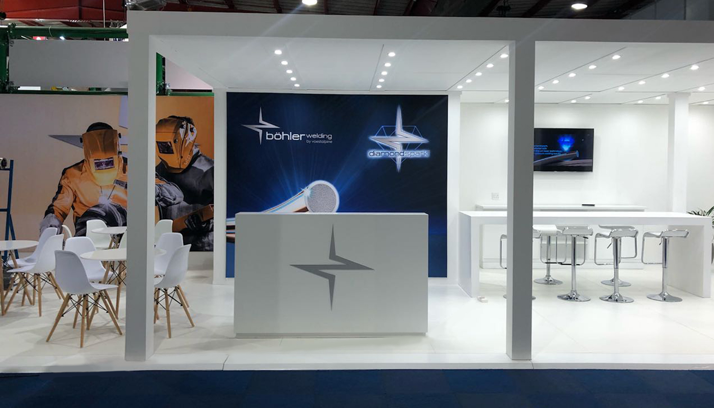 Voetsalpine Exhibition Stand Design Africom