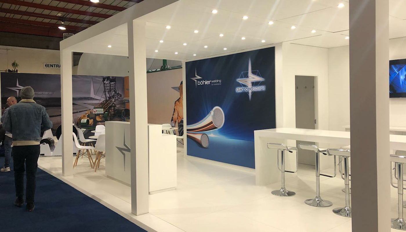 Voetsalpine Exhibition Stand Design Africom 2