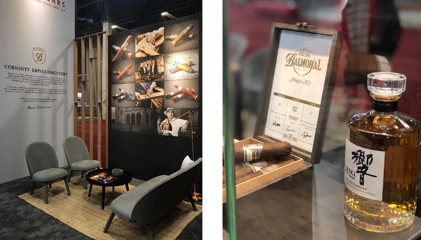 Royal Agio Cigars IPCPR Exhibtion Stand Design 5
