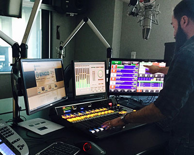 DAD being used in radio station