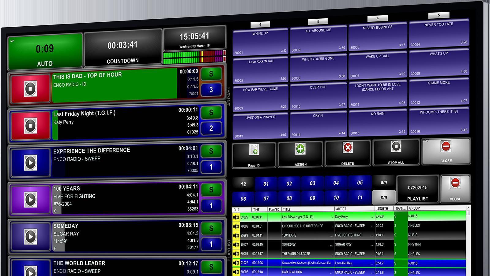 DAD Radio Automation: Digital Audio Delivery | ENCO Systems
