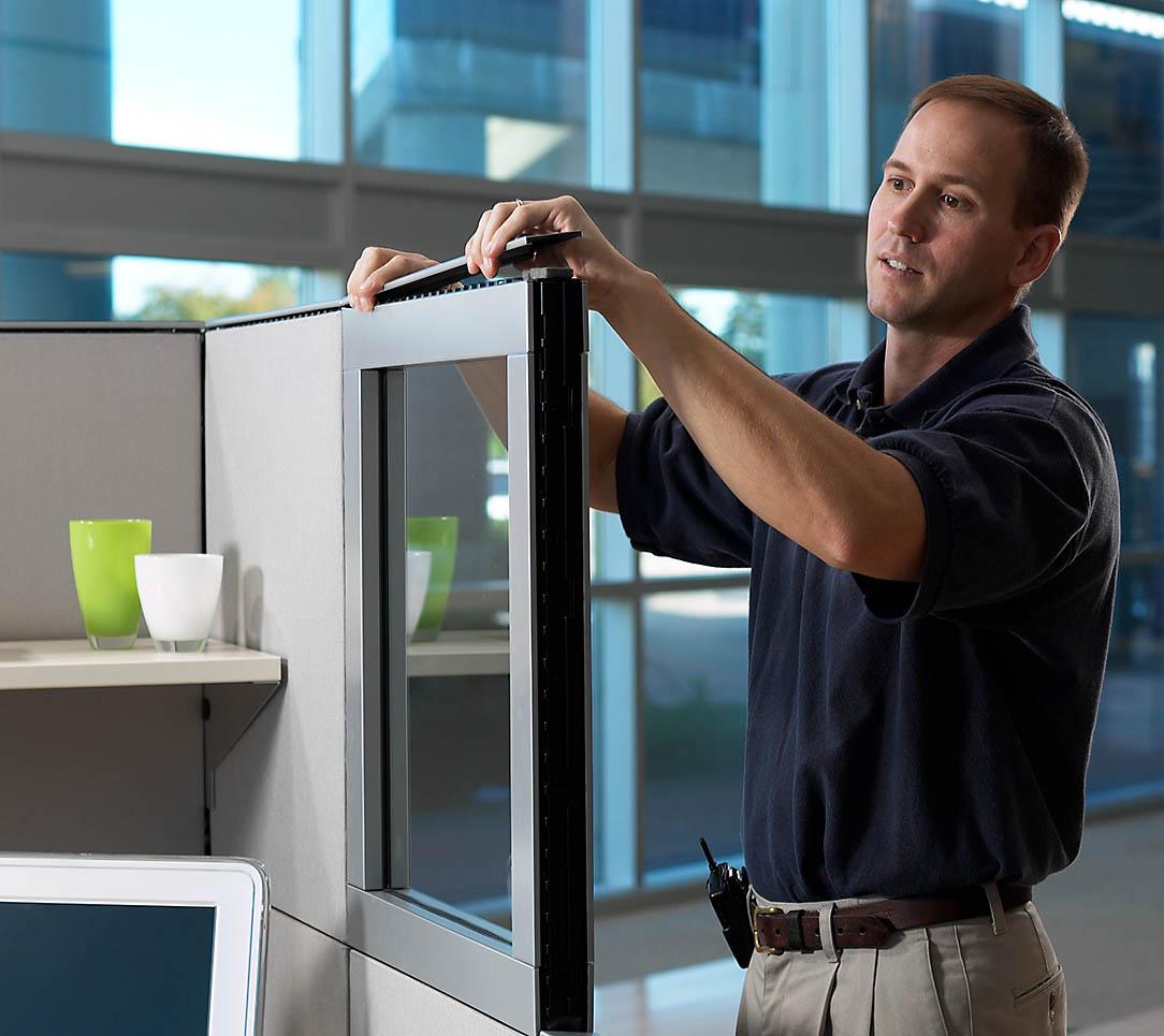 Dismantle & Disposal - Office Furniture & Shelving