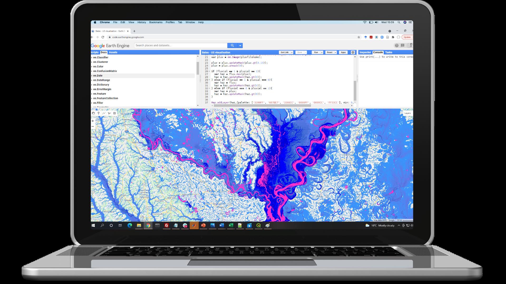 Fathom Flood Hazard Software Visual