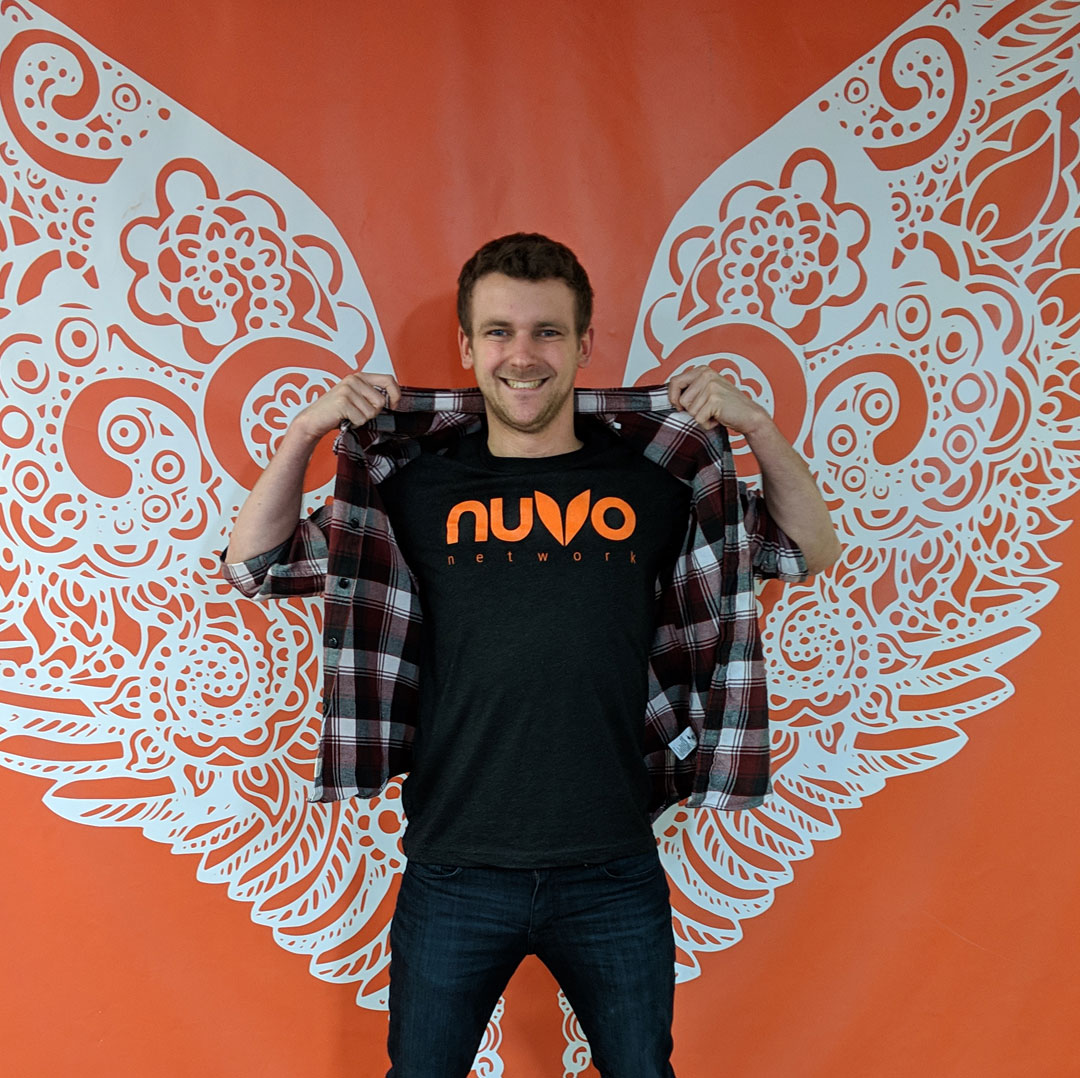 NUVO Network Wings with Staff and Karina Gould