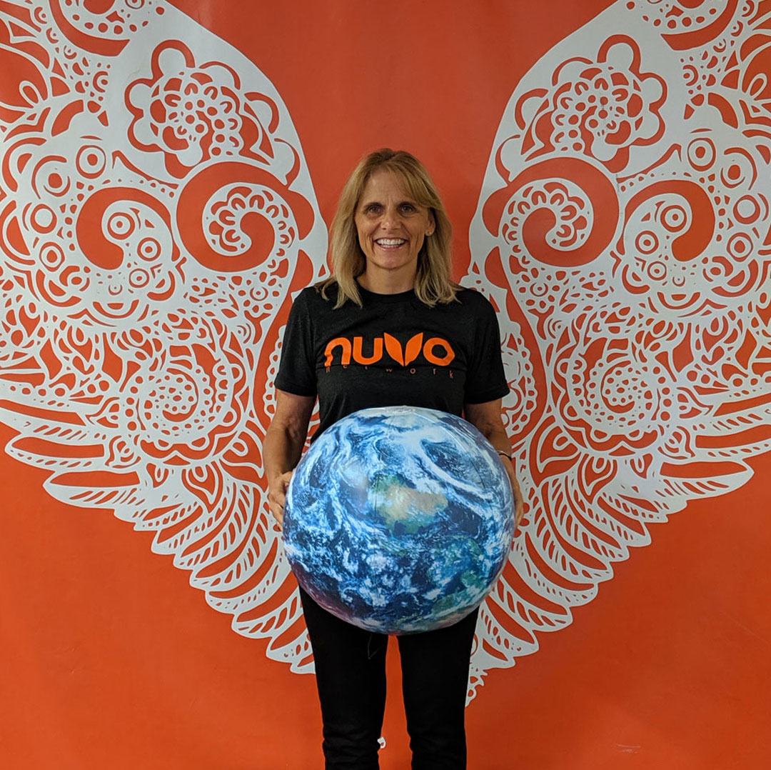NUVO Network wings and team Provoke Media & Design