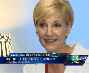 Julia Tanner Sacramento Audiologist