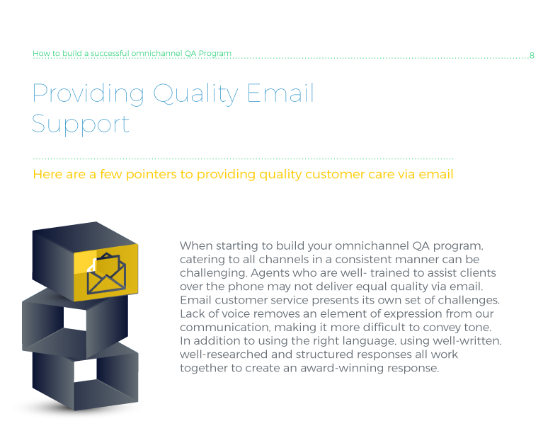 Providing quality email support