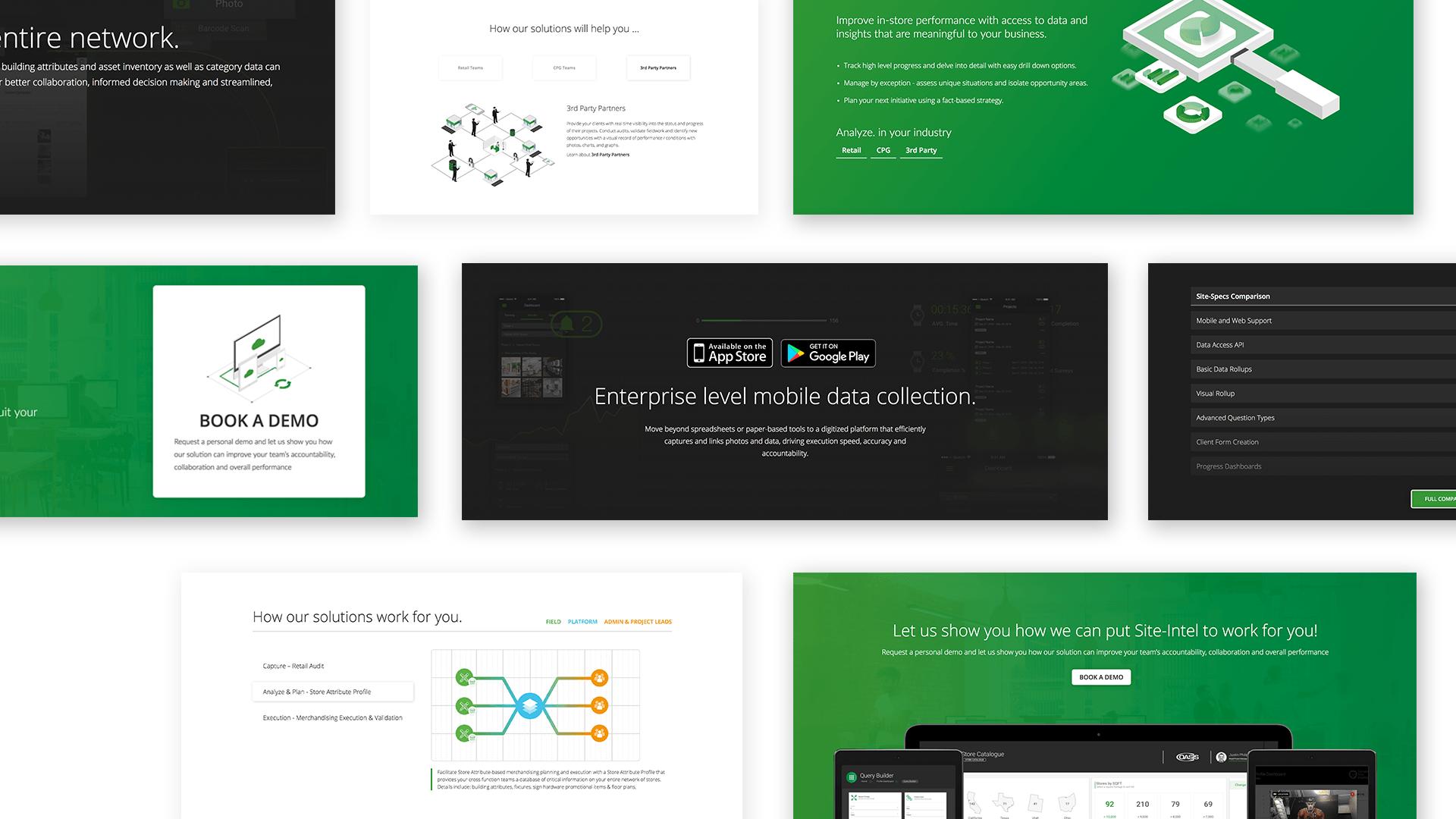 Saas Website Design / Development