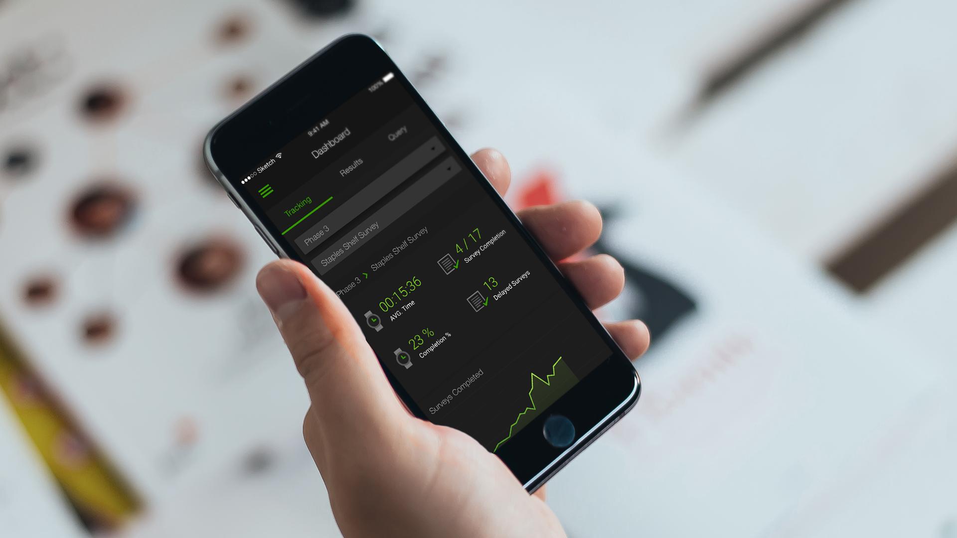 Enterprise Retail App Design