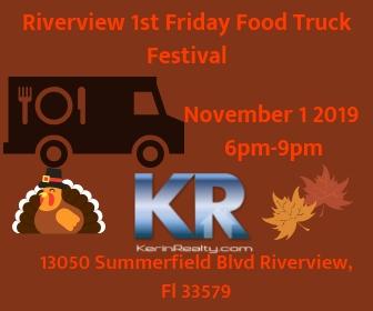 November 4  - Food Truck Festival