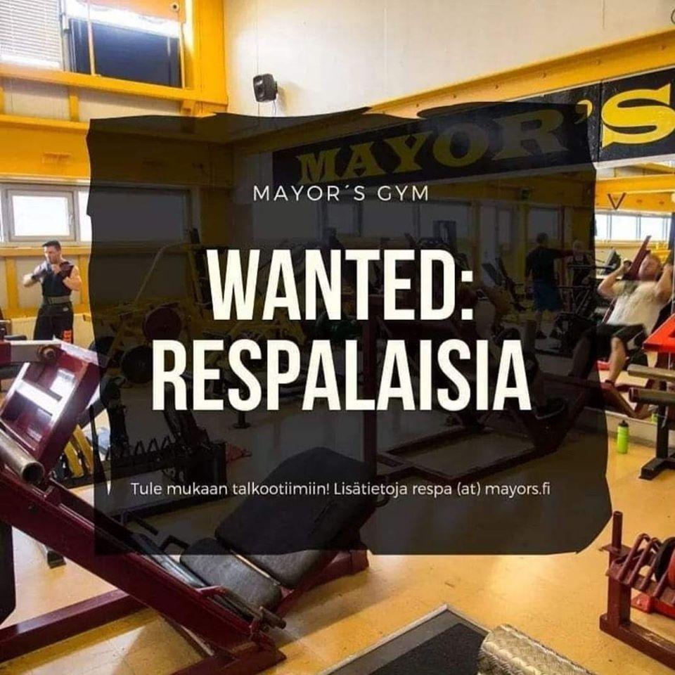 Wanted: Respalaisia