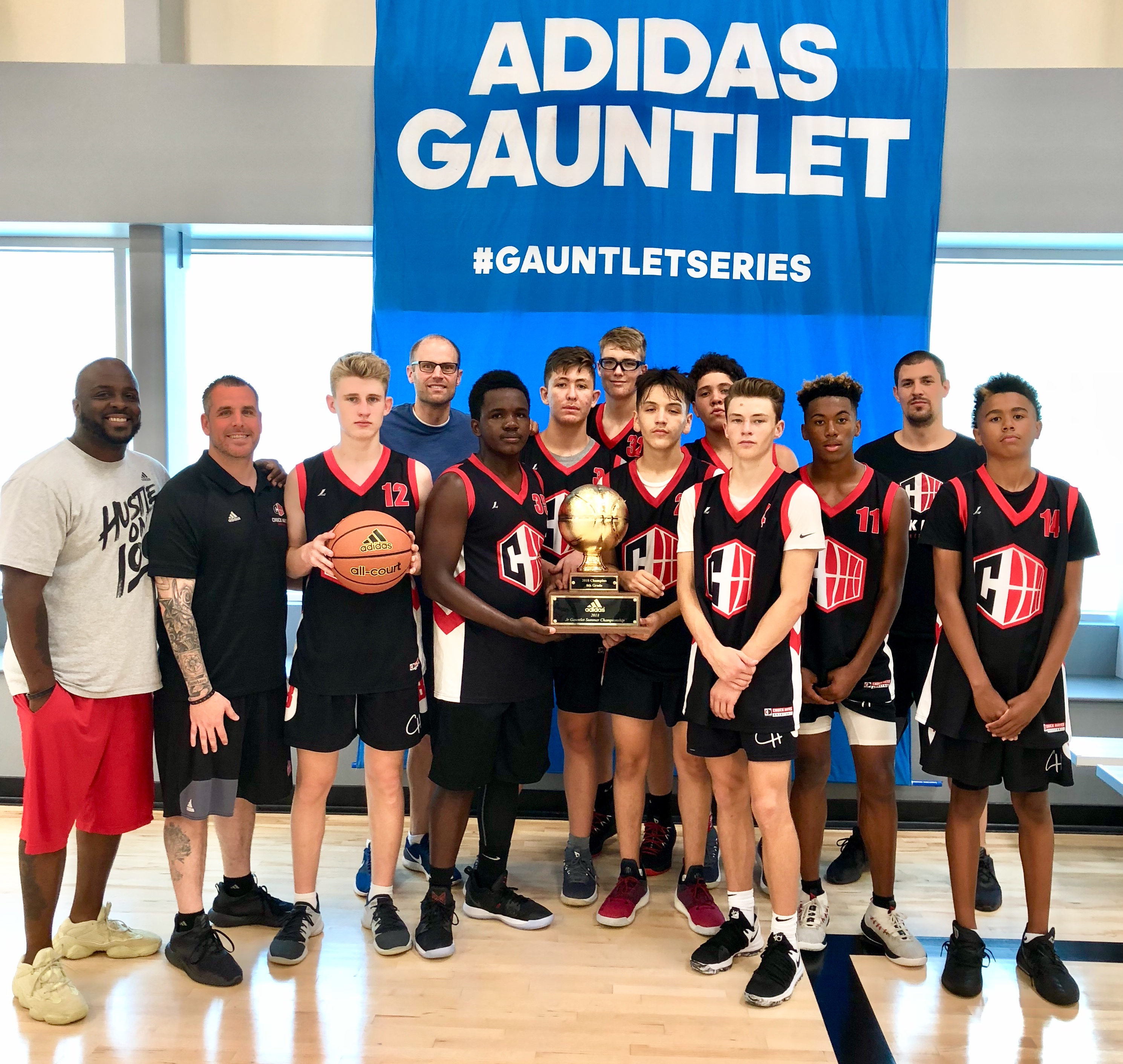 Future is now: Chuck Hayes Basketball's 14 year olds run the
