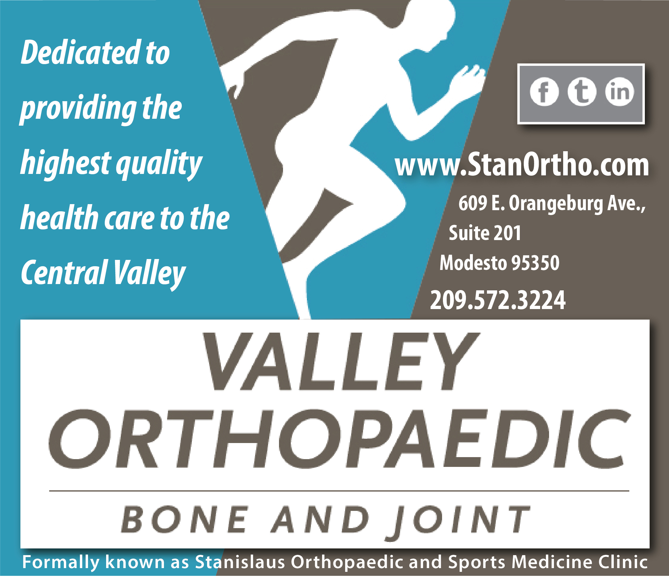 Valley Ortho - Rankings Table (Sidebar) - Home