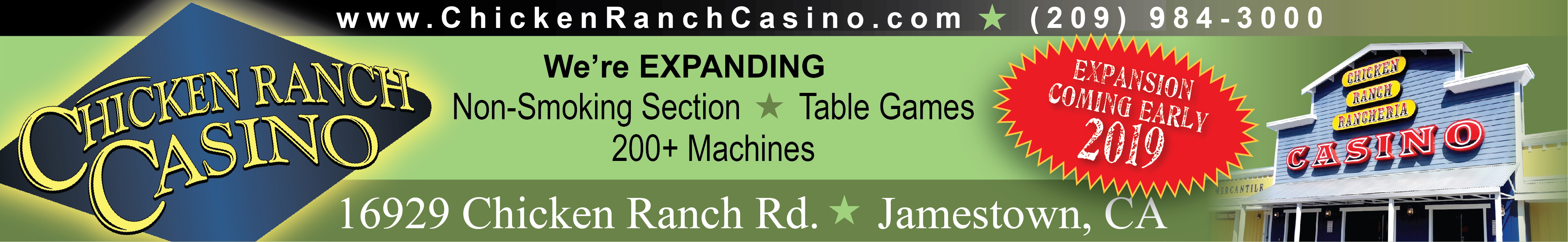 Chicken Ranch Casino - 2018 - 1 - Banner - Football - Top