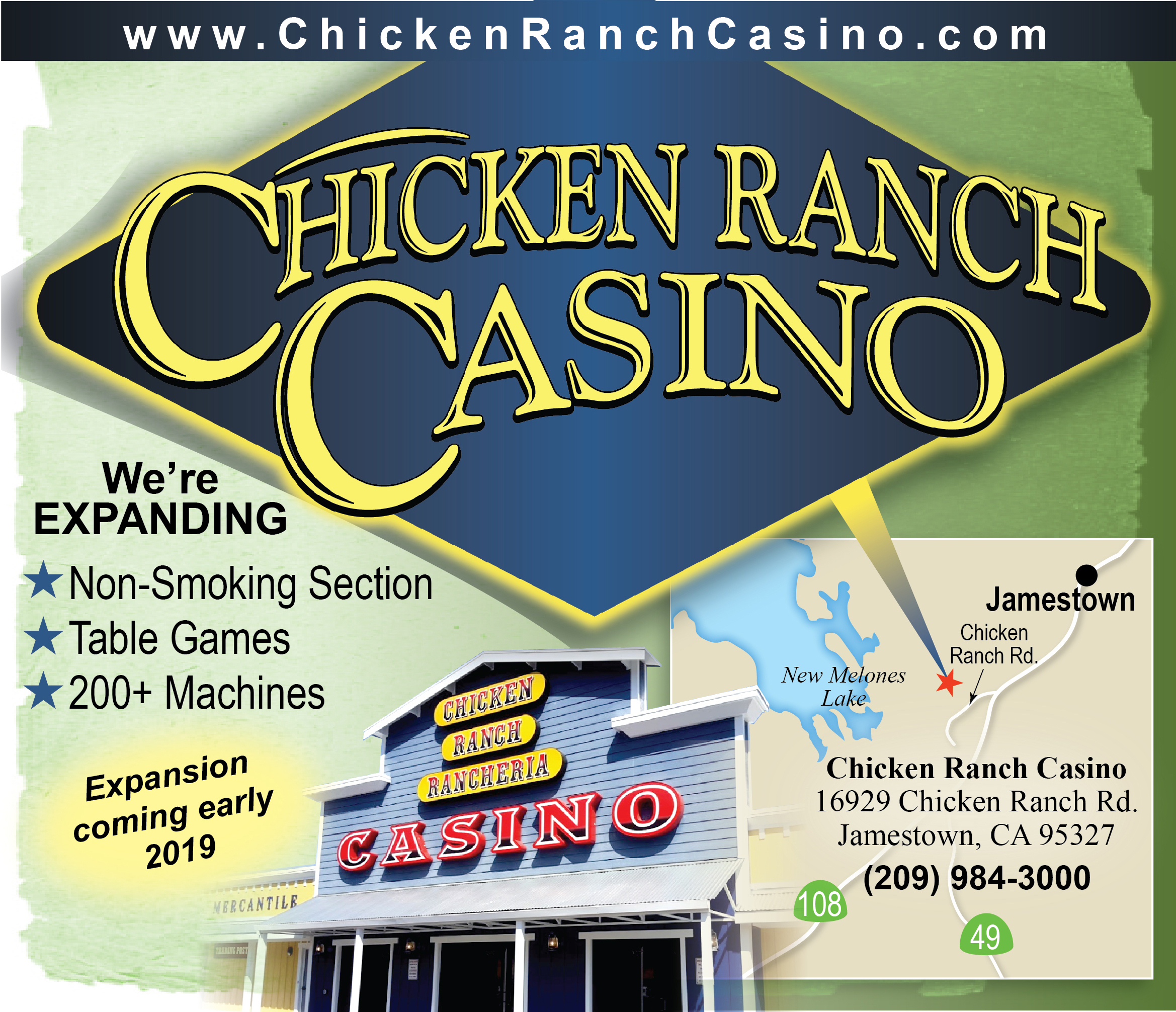 Chicken Ranch Casino - 2018 - 1 - Sidebar - Basketball
