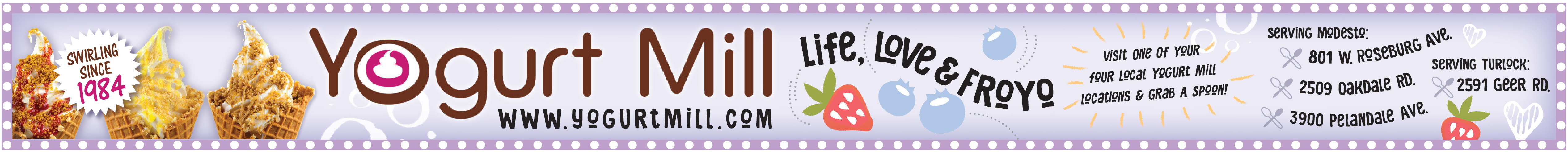 Yogurt Mill - banner