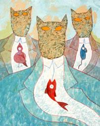 Les trois chasseurs de têtes