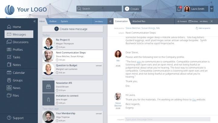 Peakfactor social network