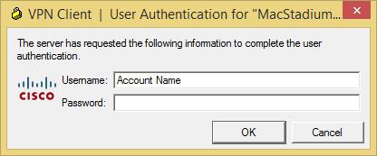 Windows VPN User Authentication
