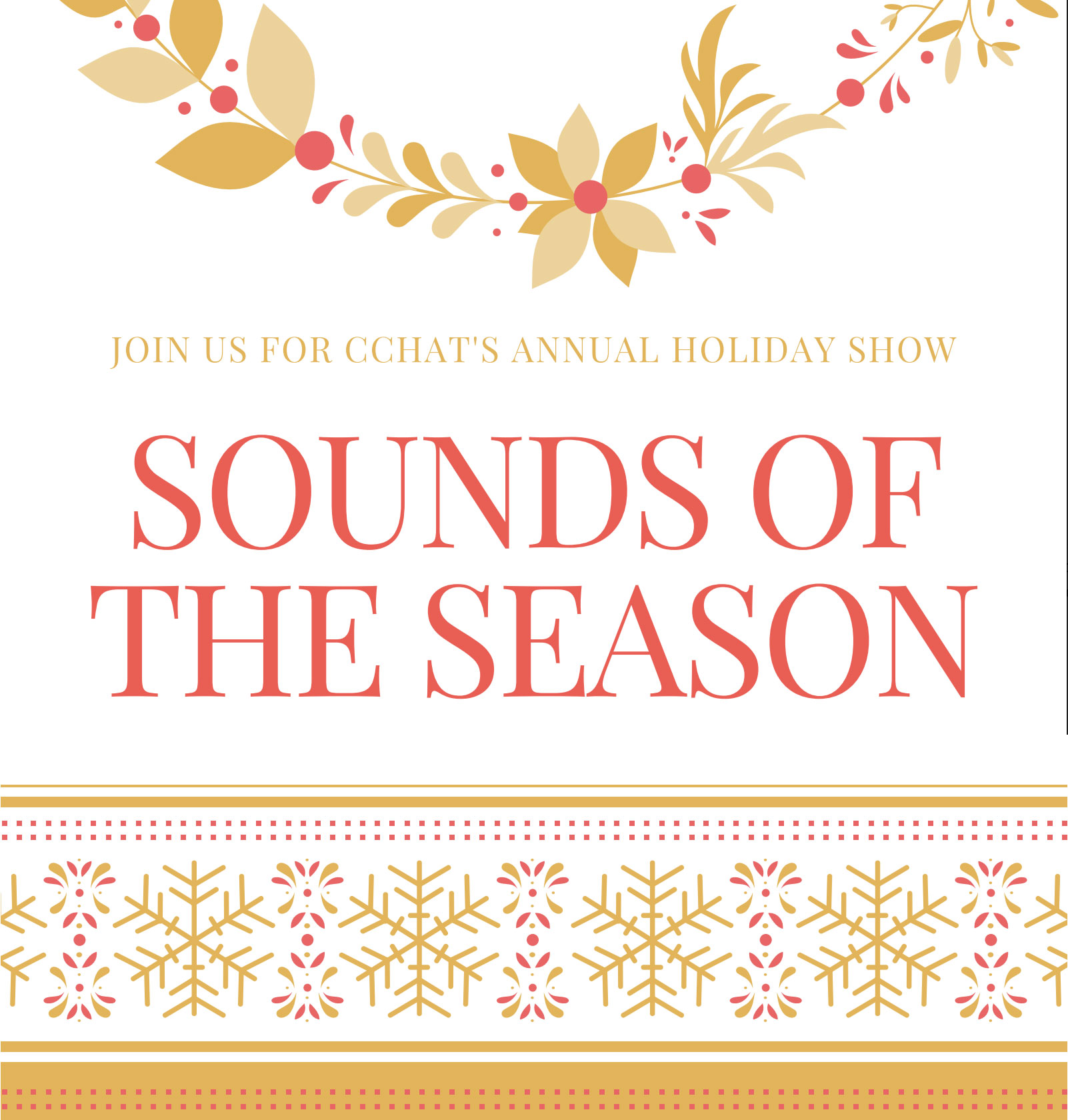 Holiday Program 2018  - Sounds of the Season