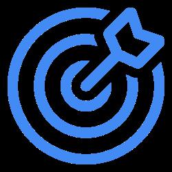 Create Incentives Icon Blue