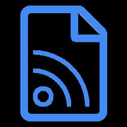 Share Posts Icon Blue