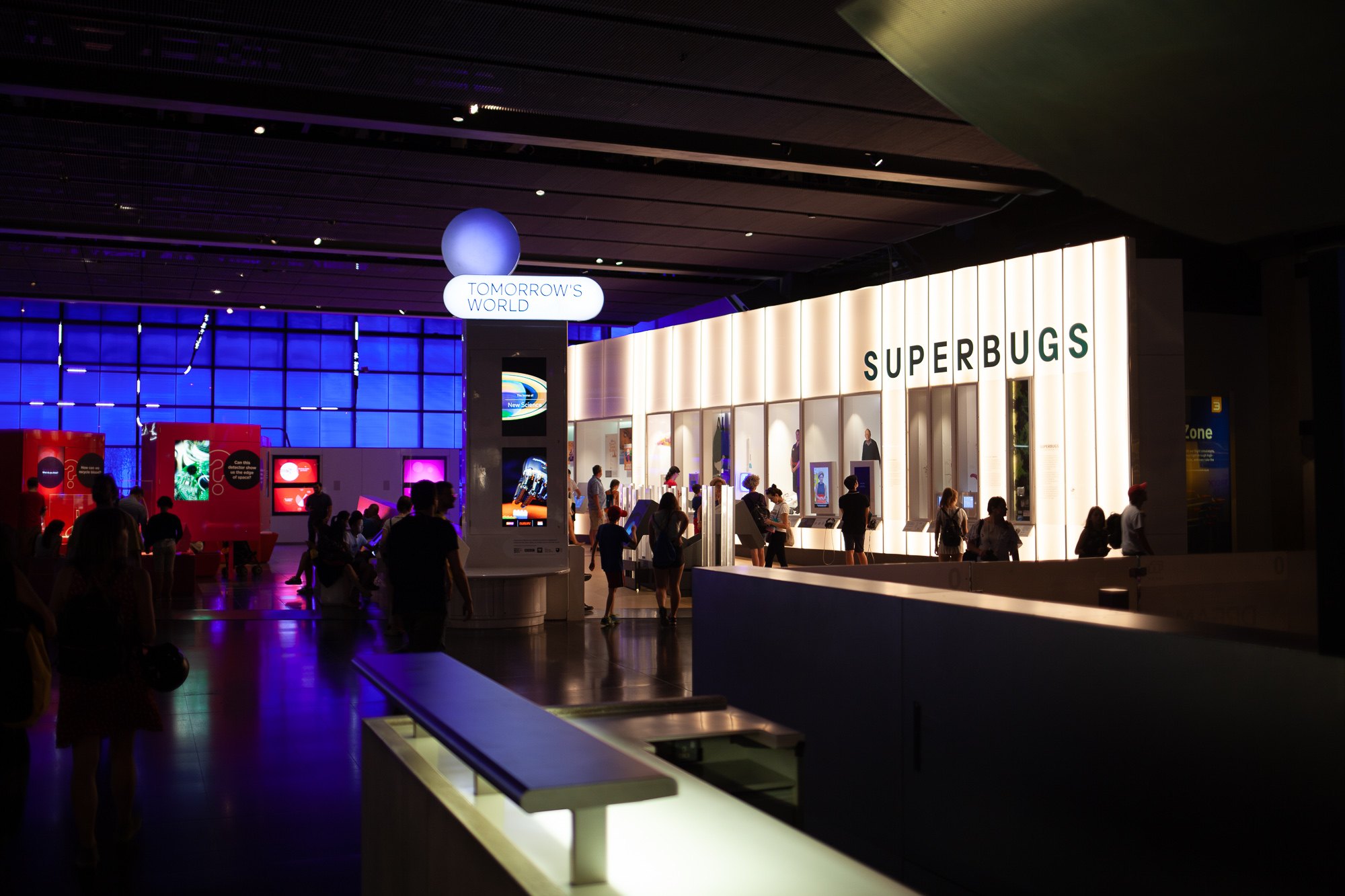 On Monday afternoon we went to the Science Museum to check out the SUPERBUGS exhibition. It was really inspiring to see how simply they communicated the challenges we're facing, as well as checking out some of the design interventions that have been tried and tested before.