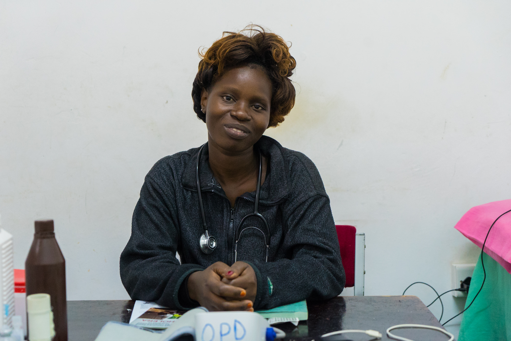 Highlights from our interview with Brenda, a clinician at Community Hospital Outpatients Surgery in Kisumu, Kenya