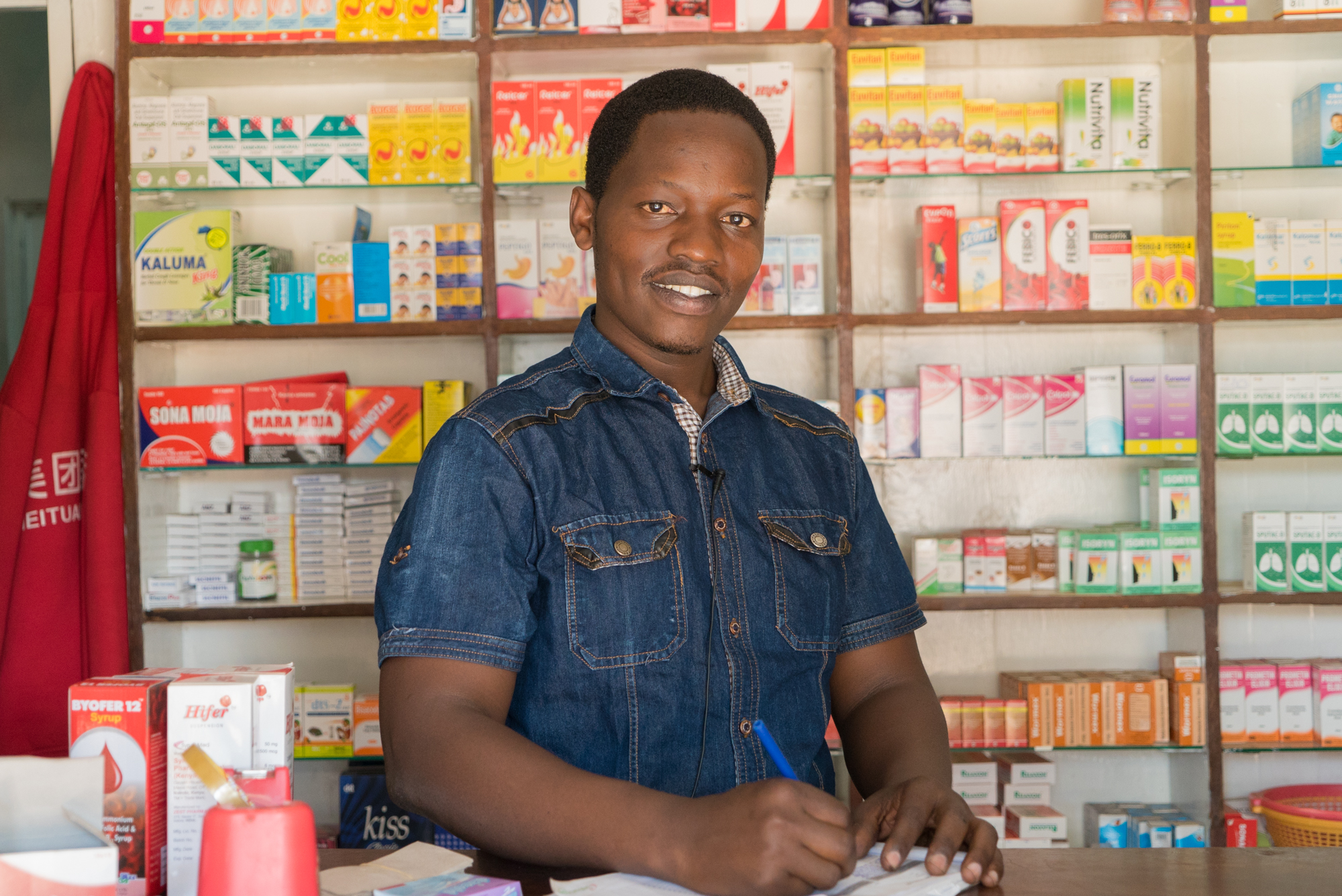 Highlights from our interview with Alvin, a pharmacist between the slums and the middle income area in Kisumu.