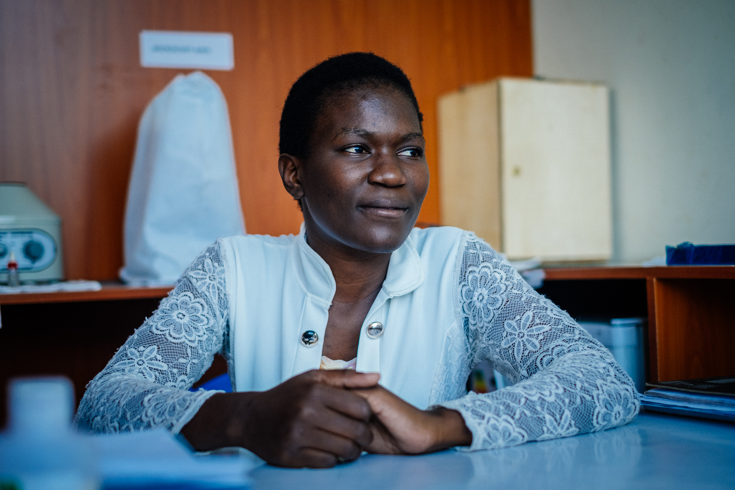 Highlights from our interview and observation session with Cherie pharmaceutical technologist in a small chain pharmacy in Kisumu.