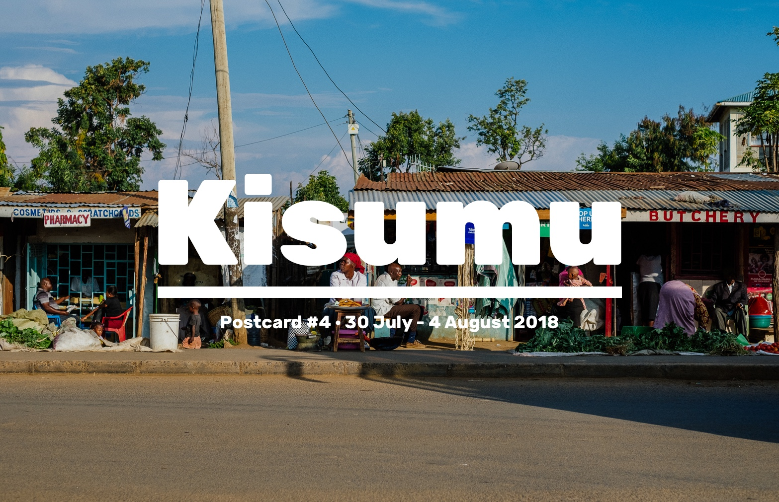 We wrapped up week 4 of our discovery phase. We hit the ground running with great research in Kisumu,doing very inspiring observations and interviews with various health workers. Check out some highlights from this week!
