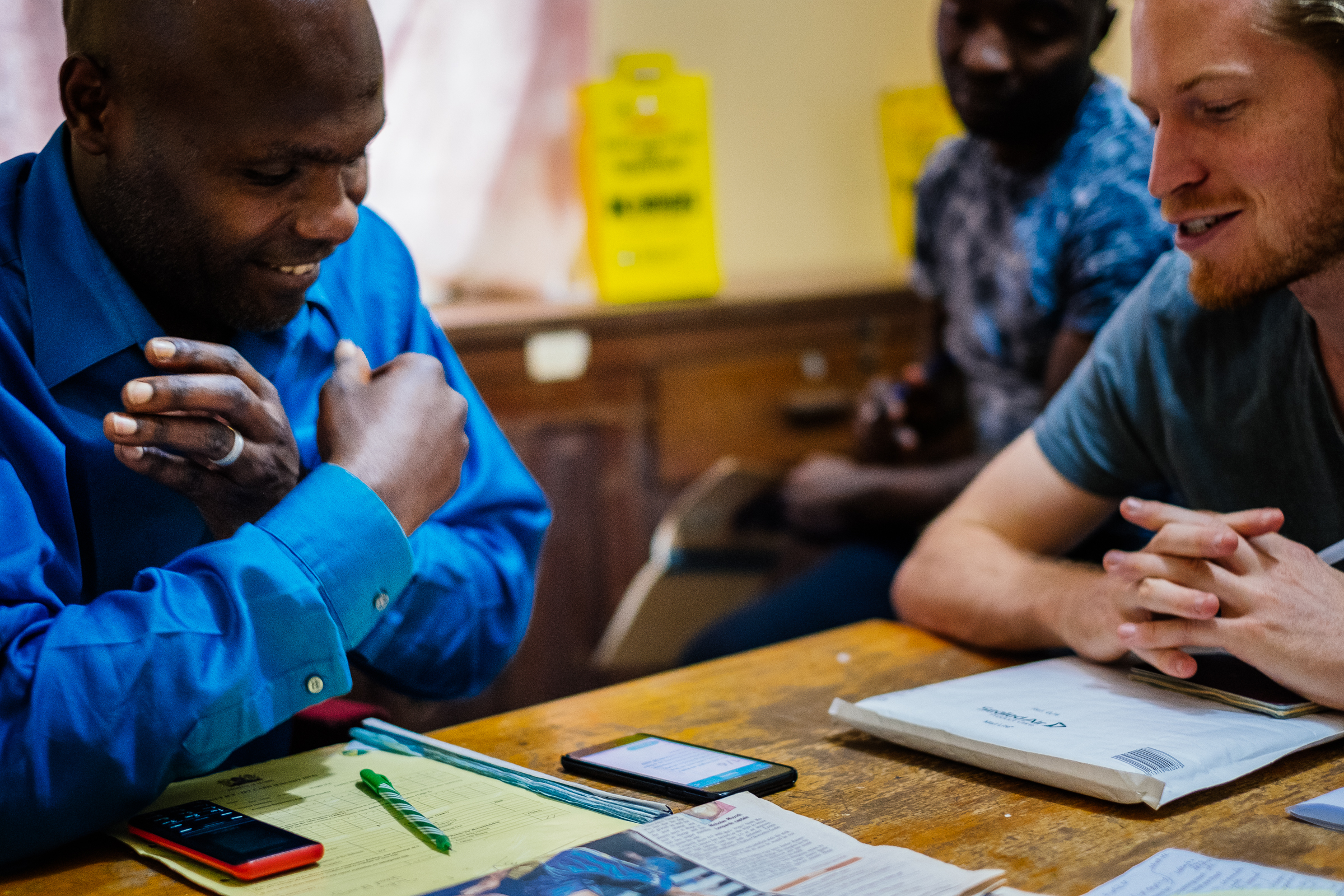 We accompanied Erick doing his rounds in the informal settlement of Kibura, Nairobi, before our co-creation session. Check out the learnings here