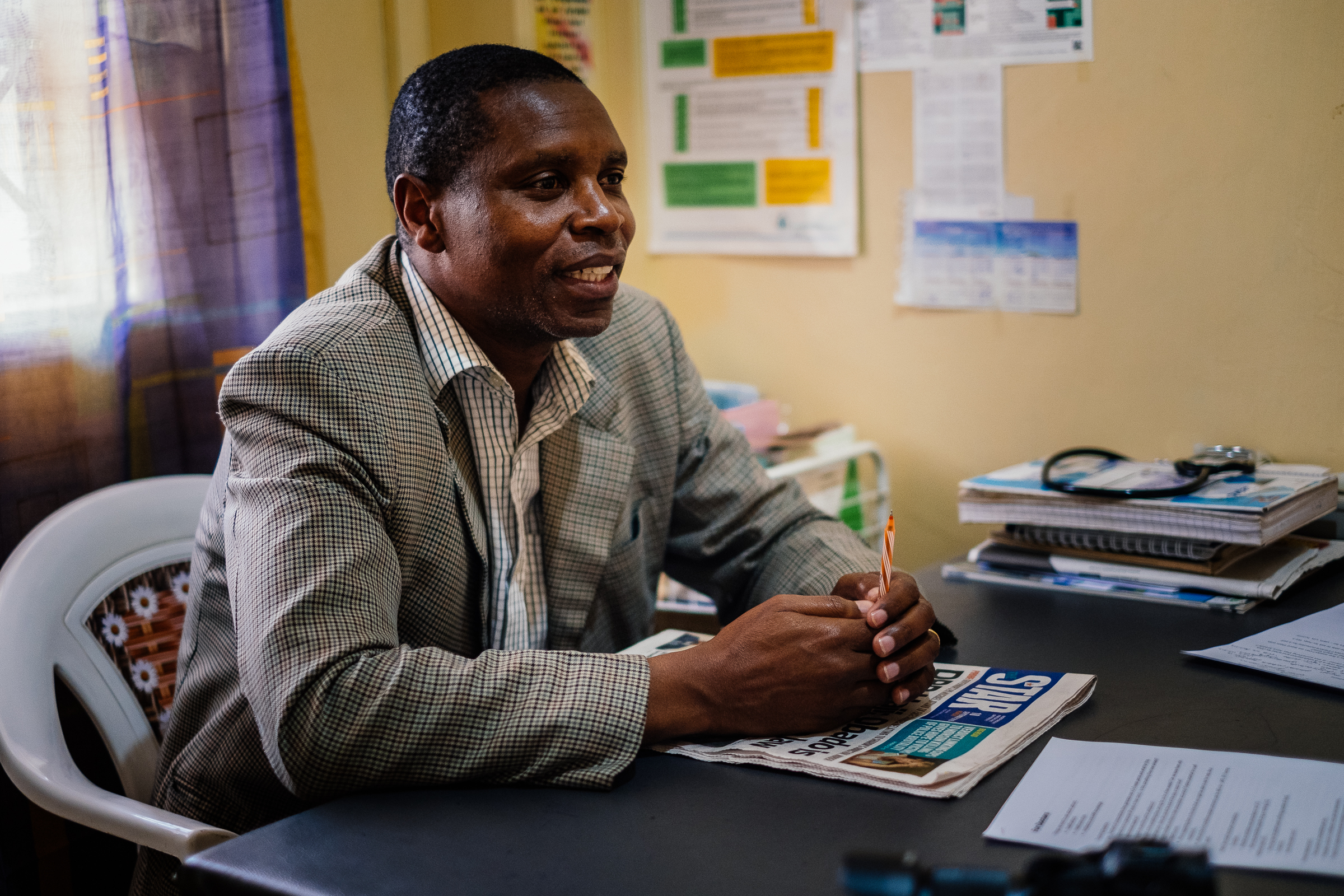 We did a co-creation session and an observation with Dr Jabilo, an experienced doctor in his own private clinic in a middle-income area in Nairobi.