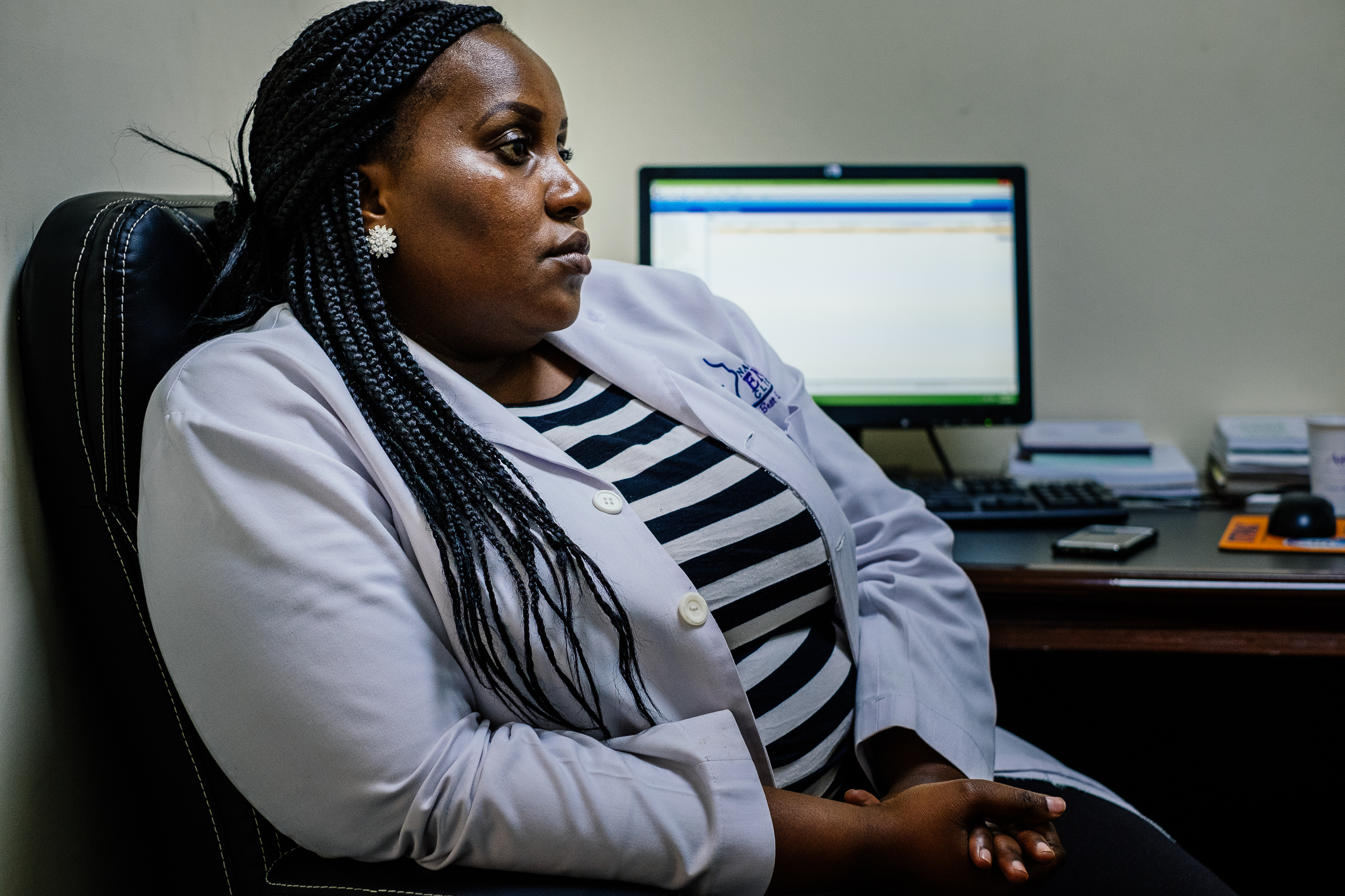 Interview and user testing with Dr Susan, an ENT surgeon in Nairobi.